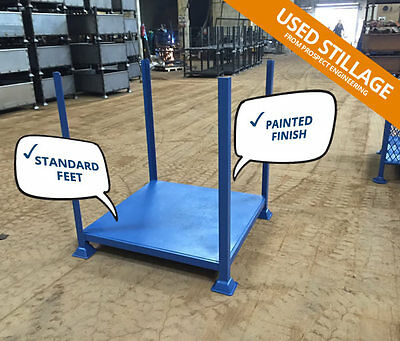 Fully Reconditioned Open Metal Post Pallet (Post Stillage) - Made in the UK