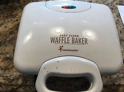 Toastmaster Easy Clean Waffle Baker Maker Iron