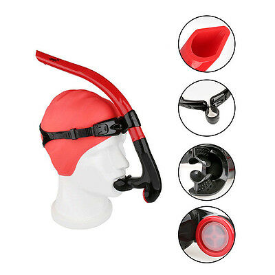 COPOZZ Front Diving Breathing Tube Silicone Snorkel Swimming Tube Underwater