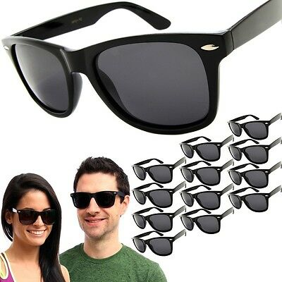 12 Pair POLARIZED Sunglasses Mens / Womens Vintage Retro Wholesale Glasses Lot