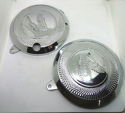 "Honda S90 S90Z Cs90 Cl90 S110 Air Filter Cleaner Cover  Nos  ""pair"""
