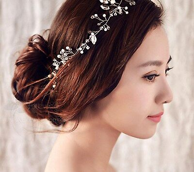Women Headband Hair Accessories Pearl Jewelry Wedding Party Head Band Fashion