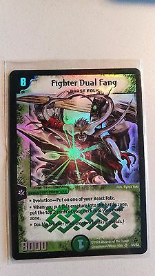Duel Masters Fighter Dual Fang super rare Near mint