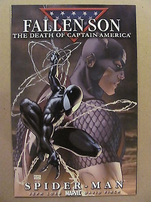 Fallen Son The Death of Captain America #4 Marvel 2007 Turner Variant 9.6 NM+