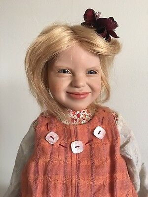 ** Annemor- 2002 Zwergnase Collection **NEW ** 21.5 Artist Doll