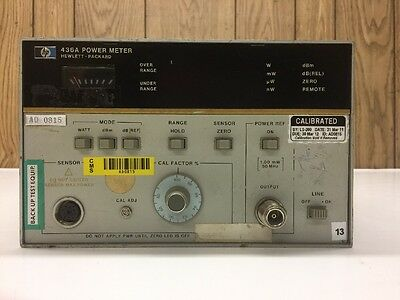 Hewlett-Packard HP Digital Power Meter Wattmeter 436A