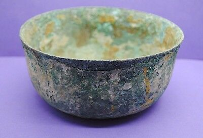 Ancient Greek bronze bowl 1st Millennium BC