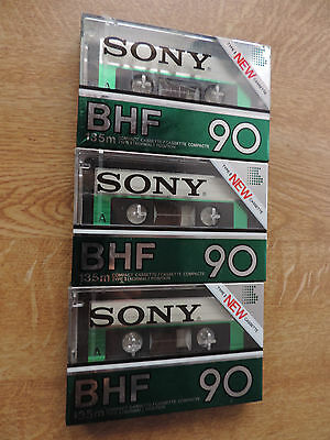 1 x SONY BHF 90 BLANK AUDIO CASSETTE TAPE NEW RARE made in Japan
