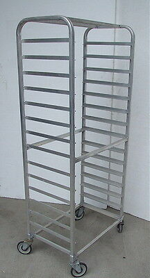 (4) Aluminum End Loading Pan Racks