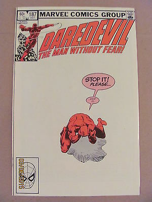 Daredevil #187 Marvel Comics NETFLIX Frank Miller 9.2 Near Mint- New Black Widow