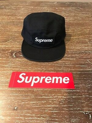 9a4f7f18630 SUPREME CAMO CAMP Cap FW16 Black -  128.88