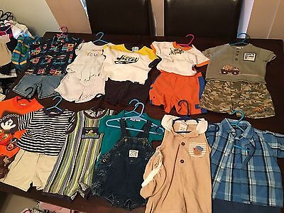 Baby Boys Size 6-12 Months Or 00-0 Clothes Summer 20 Items Lot 8