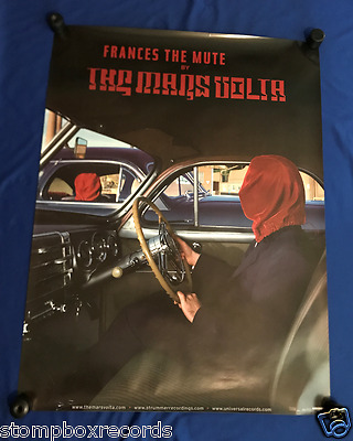vintage GIANT Mars Volta Frances the Mute LP PROMO SUBWAY POSTER 36x48in UNUSED