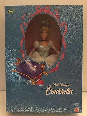 Disney Cinderella Barbie Collector Doll 19660 Signature Collection NRFB