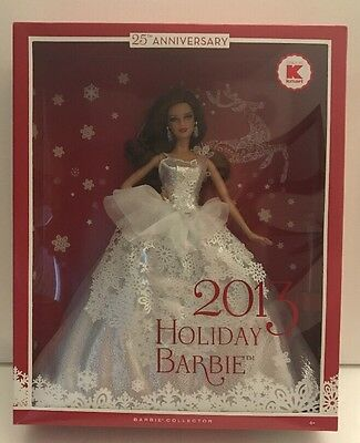 2013 Holiday Barbie Doll Collection 25th Anniversary K-Mart X9194 NRFB