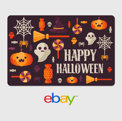 eBay Digital Gift Card - Happy Halloween - Email Delivery