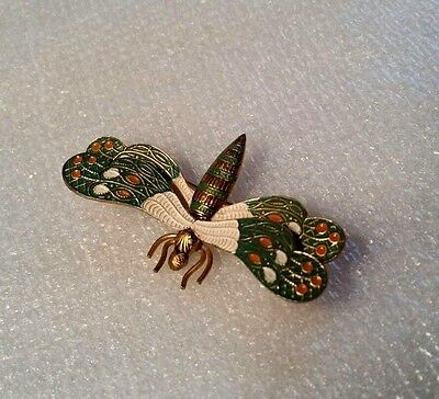 "vintage ""DRAGONFLY"" brooch made in SPAIN"