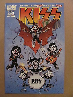 KISS KIDS #1 IDW 2013 Series 9.6 Near Mint+