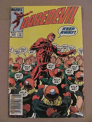 Daredevil #209 Marvel Comics NETFLIX Newsstand Edition