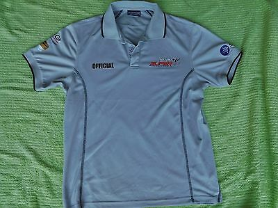 OFFICIAL SUPER GP GOLDCOAST OCT 2008 POLO SHIRT BRAND NEW SIZE M generous