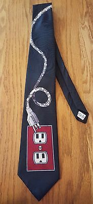 Home Improvement Neck Tie The Answer Is More Power Vintage USA