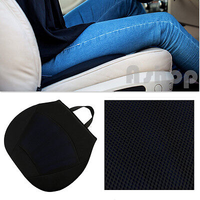 Orthopedic Silicone Gel Cushion Seat Pad Lumber Support Car Office WheelChair UK