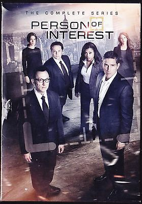 Person of Interest: Season 1-5 (DVD, 2016) 1 2 3 4 5 NEW COMPLETE SERIES