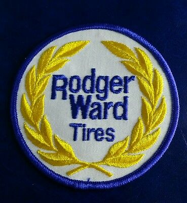 Vintage Rodger Ward Tires (Racing) Patch