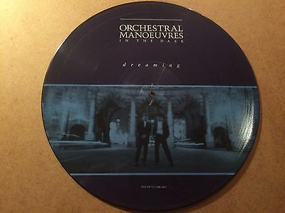 """Orchestral Manoeuvers In The Dark - Dreaming 12"""" Picture Disc  Rare Near Mint"""