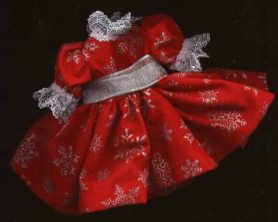 "Madame Alexander 8"" Doll Red and Silver Dress - MADC"
