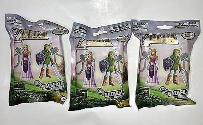 Lot of 3 NEW The Legend of Zelda Mystery Backpack Clip Buddies Random Characters