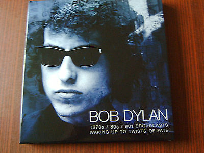 """Bob Dylan-Waking Up To Twists Of Fate -1970s / 80s / 90s Broadcasts 3x LP 12""""BOX"""