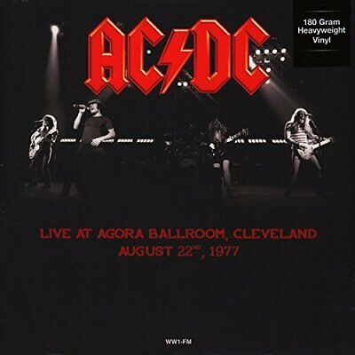 AC/DC Live In Cleveland August 1977 180gm vinyl LP NEW/SEALED