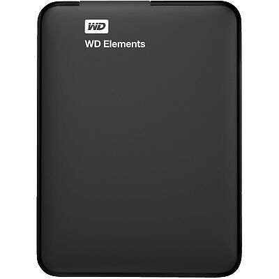 WD Elements™, 500 GB HDD, extern, Schwarz