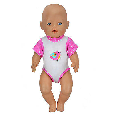 Birds Doll jumpsuits Clothes Wearfor 43cm Baby Born zapf (only sell clothes )