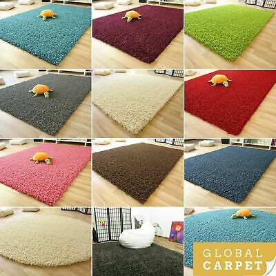 Shaggy Rug Funny Small Extra Large New Modern Soft Thick Non-Shedding Carpets