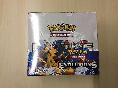 Pokemon XY12 Evolutions (Evolution) - Display OVP ENGLISCH (36) Booster Box rare