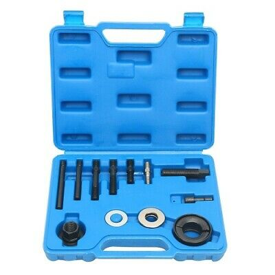 13pc Kit Power Steering Alternator A/C Pulley Puller Remover Installer Tool CA