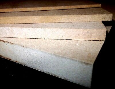 25 x A3 MDF SHEETS BOARDS 420mm x 297mm MEDIUM DENSITY FIBREBOARD
