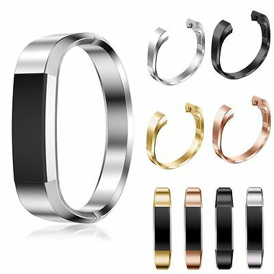 Stainless Steel Wrist Strap Replacement Watch Band Bracelets For Fitbit Alta HR