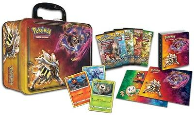 Pokemon Collector Chest 2017 Spring Collection Trading Card Games TCG New Tin