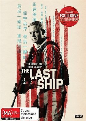 The Last Ship Season 3 BRAND NEW SEALED R4 DVD