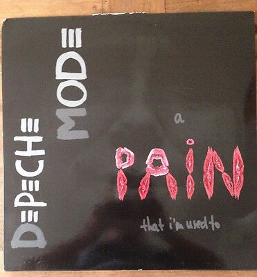 """Depeche Mode a Pain That I'm Used To 12"""" Vinyl, Never Used Or Played"""