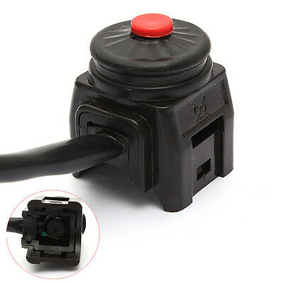 Motorcycle Stop Button Kill Switch For Pit Dirt Bike MX ATV Quad Black