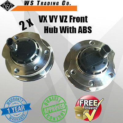 2 Holden Commodore VT-II VX VY VZ Front Wheel Hubs Bearing With ABS