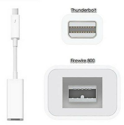 Apple Official Thunderbolt to FireWire Adapter MD464ZM/A