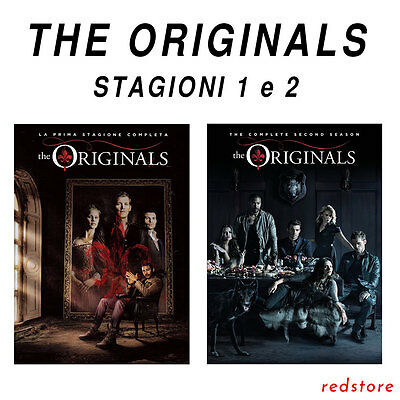 The Originals - Stagioni 1 e 2 (10 Dvd) *Italiani Sigillati