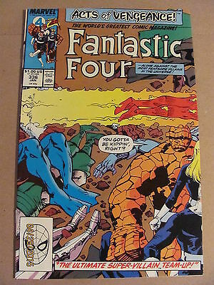 Fantastic Four #336 Marvel 1961 Series ACTS OF VENGEANCE