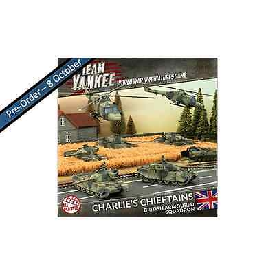 TEAM YANKEE: Charlie's Chieftains – British Armoured Squadron (Plastic Army Deal