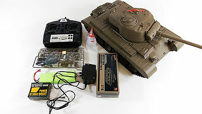 Heng Long Radio Remote Control USA Snow Leopard RC Tank 1/16 Super Detail Cheap